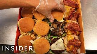 Burgerim Serves Customizable Mini Burger Box