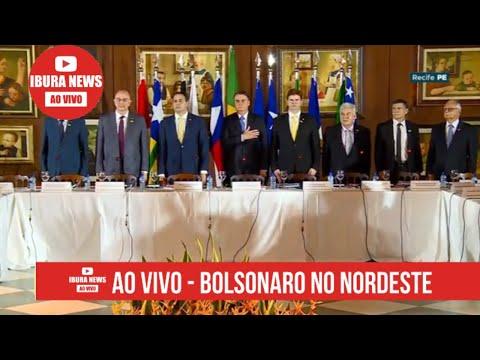 AO VIVO - #JairMessiasBolsonaro NO NORDESTE - GRANDE DIA! 👍 SE INSCREVA NO CANAL