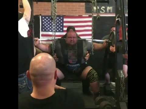 Powerlifter Nathan Baptist Hits All-Time World Record Equipped Squat of 594.7 Kilograms (1,311 Pounds)