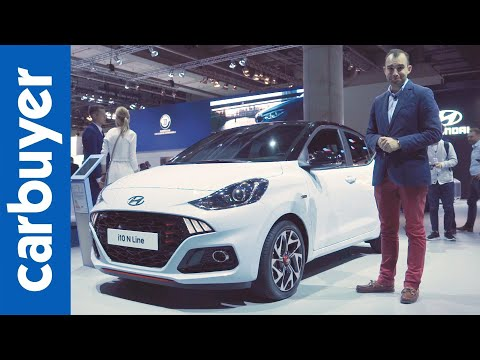 New Hyundai i10 walkaround - Frankfurt Motor Show - Carbuyer