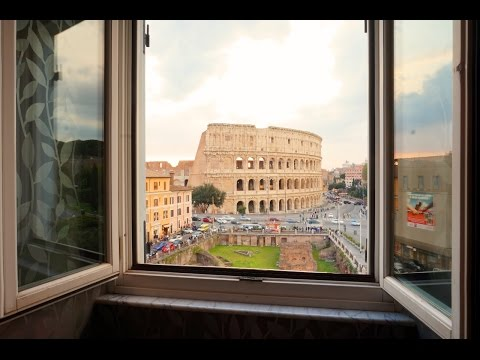 Colosseum Views from my Bed -  Hotel Palazzo Manfredi in Rome