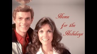 """(There's No Place Like) Home For The Holidays"" (Lyrics) ❄️ THE CARPENTERS  💖 Karen ♫ Richard"