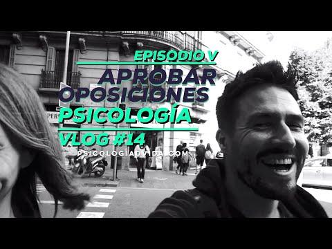 Aprobar Oposiciones Psicología (Justicia) - Episodio V - Vlog #14