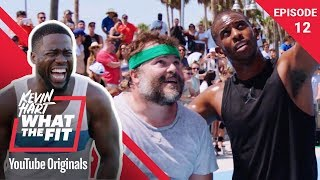Basketball with Jack Black & Chris Paul | Kevin Hart: What The Fit Ep 12 | Laugh Out Loud Network - Video Youtube