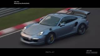 Gran Turismo SPORT - Nurburgring Fog/Dusk - Porsche 911 GT3 RS Replay
