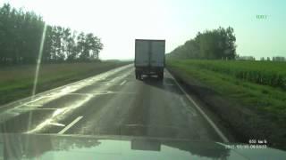 Авария на автодороге Курск-Воронеж