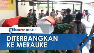 3 Jenazah Korban Bentrok TNI-Polri Diterbangkan ke Merauke
