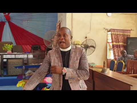 Pastor Akintunde Agun message on Sustaining  Peace in your family.