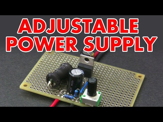 Adjustable-switch-mode-power-supply