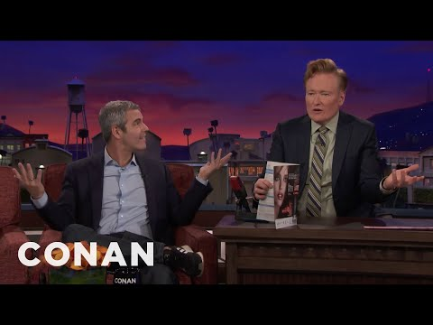 """Conan Is Angry That Andy Cohen Won People's """"Sexiest Hair"""