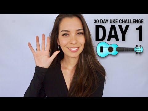 DAY 1 - SET UP YOUR UKE ZONE - 30 DAY UKE CHALLENGE