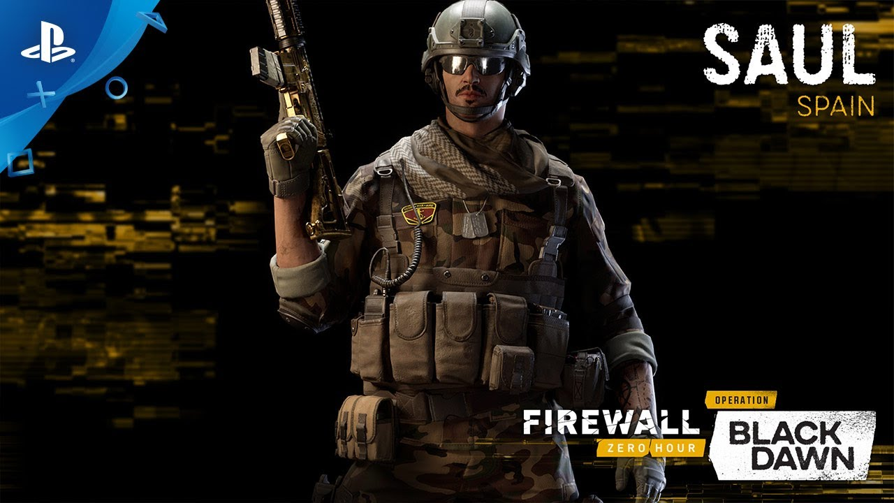 Out Today: Firewall Zero Hour's New Season – Operation: Black Dawn
