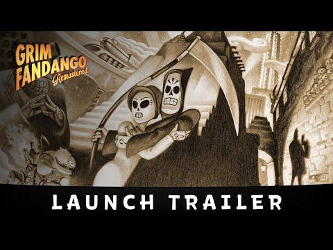 Grim Fandango Remastered Launch Trailer thumbnail