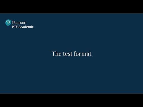 PTE Academic - Test format - YouTube