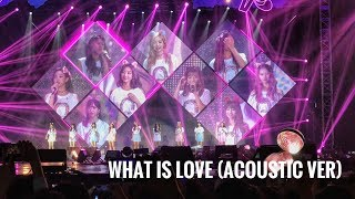 "TWICE ""what Is Love"" (Acoustic Ver) @ TWICELAND ZONE 2 LIVE IN JAKARTA"