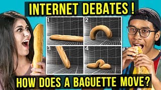 Why People Are FREAKING OUT About Baguettes   INTERNET DEBATES (React)