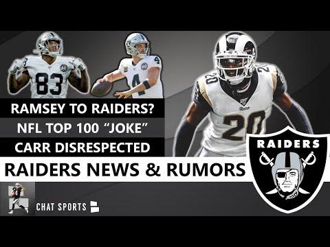 Jadeo Ostentoso tormenta  Raiders News & Rumors On Jalen Ramsey Instagram, Marquel Lee, NFL Top 100,  Derek Carr, Jordan Roos | Hollywood goodfella