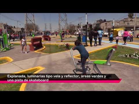 Inauguramos área recreativa San Lorenzo