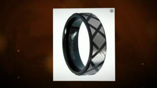 Mens Titanium Wedding Rings: A New Standard Of Durability