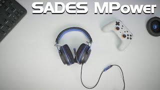 Das perfekte Gaming-Headset für PC, PlayStation, Switch und Co.? Sades MPOWER Kopfhörer mit Mikrofon