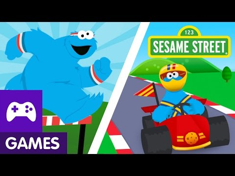 Sesame Street: The Cookie Games with Cookie Monster