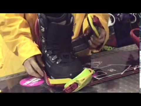 Elegir las botas de snowboard. Tutorial snowboard.