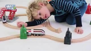 """Brio Стартовый набор с поездом и управляющими тоннелями серия Smart Tech от компании Интернет-магазин """"Timatoma"""" - видео"""