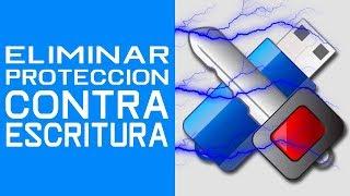 COMO QUITAR LA PROTECCION CONTRA ESCRITURA DE UNA MEMORIA SD/USB/pirata