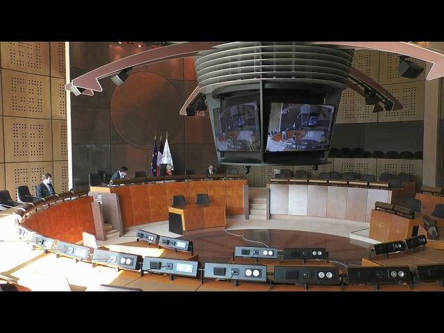 L'Assemblée départementale du lundi 27 avril 2020