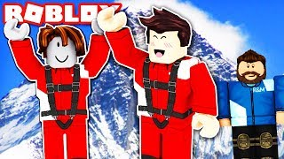 Climbing Death Mountain Roblox Funny Moments Roblox Mt Everest