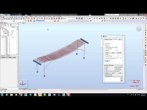 Designing Analysis Documenting of RCC Bridge Robot Structural Analysis Professional 2020