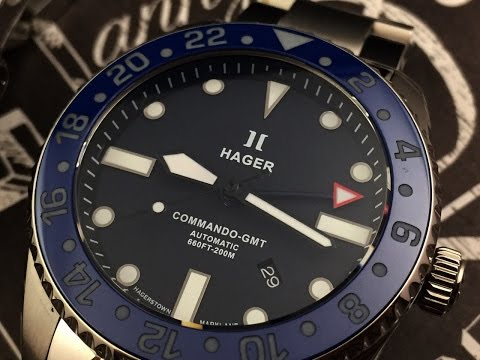 Hager Watches Commando Professional Watch Review