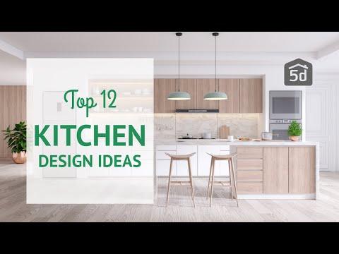 Kitchen design | TOP 12 Interior Design ideas 20/21