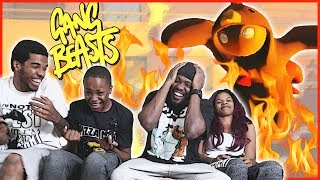 FAMILY MEMBER FIRE PIT SACRAFICE! - Gang Beasts Gameplay