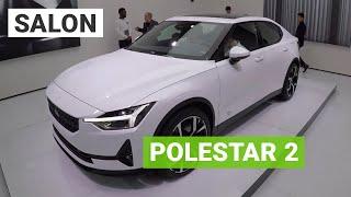 Polestar 2 : la rivale de la Tesla Model 3 au salon de Genève 2019