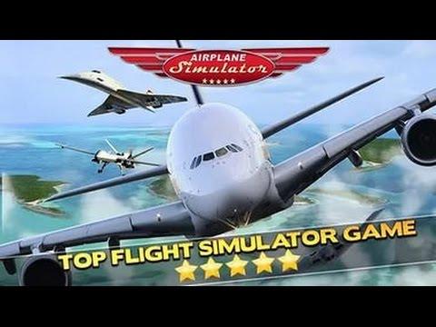 airplane simulator pilot 3D обзор игры андроид game rewiew android