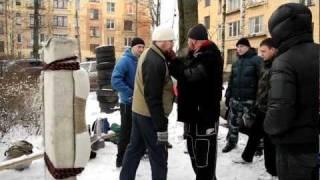 Особенности уличного боя зимой