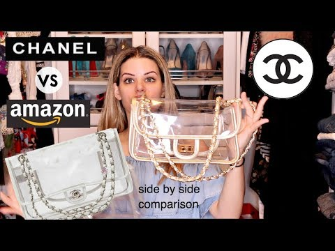 $3k CHANEL PLASTIC PURSE Vs. $50 AMAZON PURSE!!