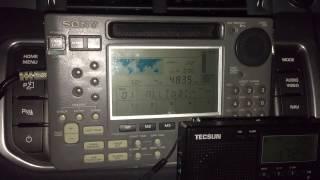 Sony ICF-SW77 Vs ICF-SW55 Vs Tecsun PL-310ET: ABC Northern Territories 4835 KHz