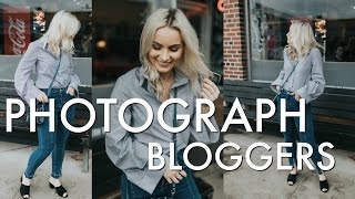 HOW TO TAKE OUTFIT PICTURES | Fashion Street Style Behind The Scenes Photoshoot