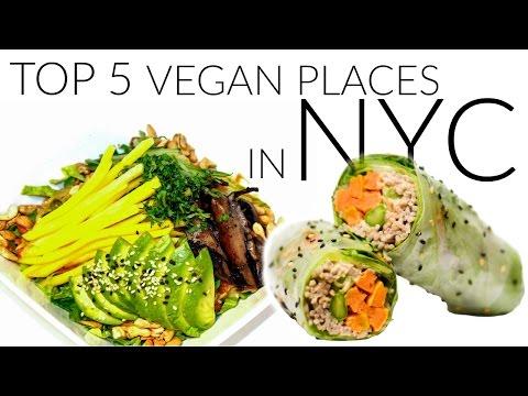 Video Top 5 Vegan Food Places in NYC