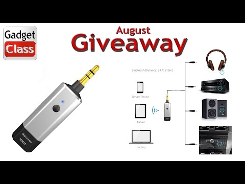 (:Giveaway & Review:) Maceton Bluetooth Audio Adapter Dongle ~Turns Any Aux Input or Stereo Into BT