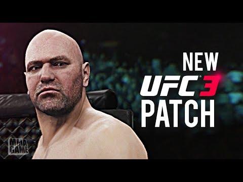 EA Sports UFC 3 - NEW PATCH ft. DANA WHITE!