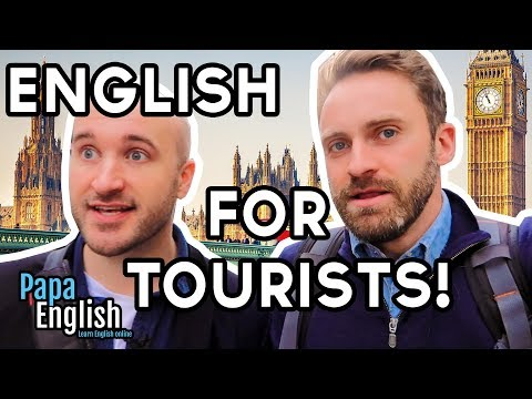 Tourist Vocabulary for London! With Tom from Eat Sleep Dream English