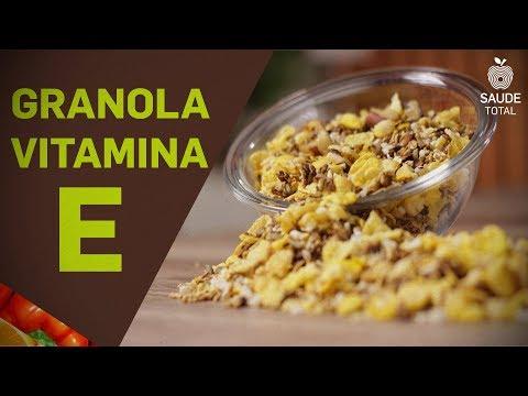 Granola com Semente de Girassol | Vitaminas | Saúde Total