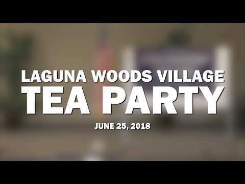 Laguna Woods Village Tea Party | June 2018 | Speaker Trevor Loudon