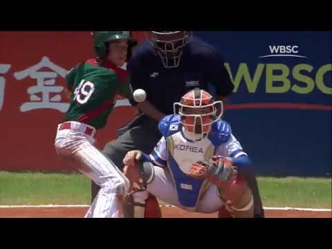 Highlights: Mexico v Korea - Super Round - WBSC U-12 Baseball World Cup 2017