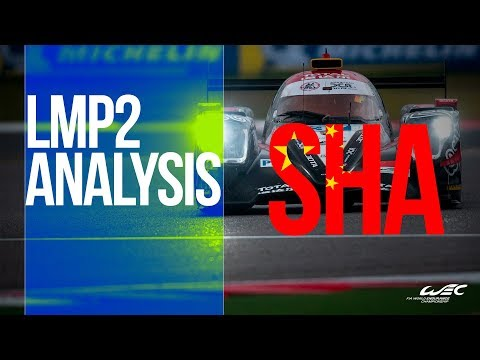 2018 6 Hours of Shanghai - LM P2 the points