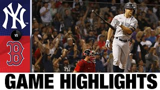Yankees vs. Red Sox Game Highlights (9/25/21) | MLB Highlights