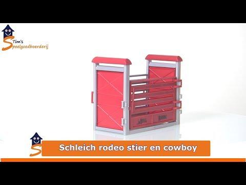 SCHLEICH RODÉO AVEC COWBOY 41419